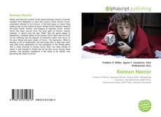Bookcover of Korean Horror