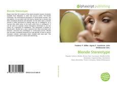 Portada del libro de Blonde Stereotype