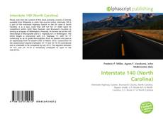 Bookcover of Interstate 140 (North Carolina)