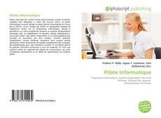 Buchcover von Pilote Informatique