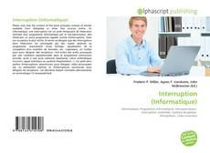 Buchcover von Interruption (Informatique)