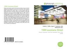1500 Louisiana Street kitap kapağı