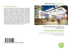Bookcover of 1818 Market Street