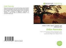 Bookcover of Didier Ratsiraka