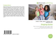 Buchcover von Singing Game
