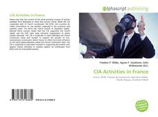 CIA Activities in France kitap kapağı