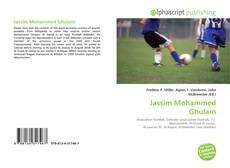 Capa do livro de Jassim Mohammed Ghulam