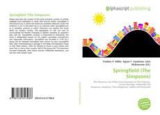 Portada del libro de Springfield (The Simpsons)