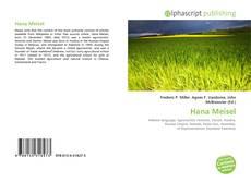 Hana Meisel kitap kapağı