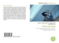 Buchcover von Klaus Sunnanå