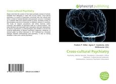 Bookcover of Cross-cultural Psychiatry