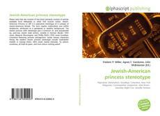 Portada del libro de Jewish-American princess stereotype