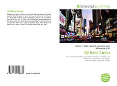 Bookcover of 40 Bank Street