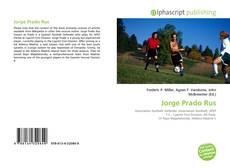 Buchcover von Jorge Prado Rus