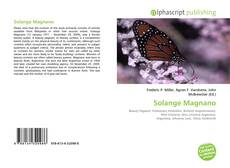 Bookcover of Solange Magnano