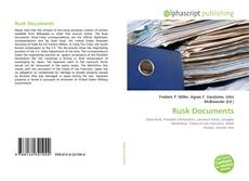 Bookcover of Rusk Documents