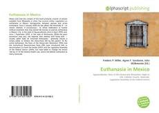 Bookcover of Euthanasia in Mexico