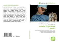Animal Population Control的封面