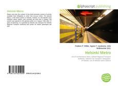 Portada del libro de Helsinki Metro