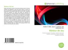 Moteur de Jeu kitap kapağı