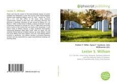 Bookcover of Lester S. Willson