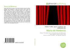 Capa do livro de Maria de Medeiros