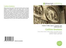 Bookcover of Catiline Orations