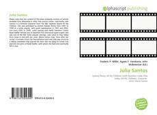 Обложка Julia Santos