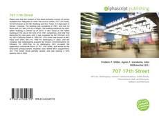 707 17th Street kitap kapağı