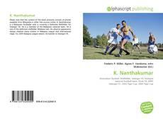 Borítókép a  K. Nanthakumar - hoz