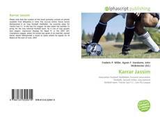 Capa do livro de Karrar Jassim