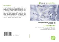 Bookcover of Le Comte Ory