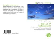 Capa do livro de Boeing C-17 Globemaster III