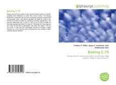Capa do livro de Boeing C-75
