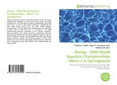 Couverture de Diving - 2009 World Aquatics Championships – Men's 1 m Springboard