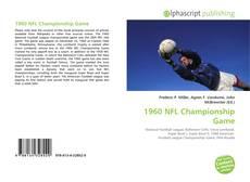 Copertina di 1960 NFL Championship Game