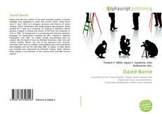 Buchcover von David Barrie