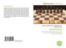 Portada del libro de Closed Game