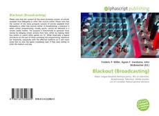 Buchcover von Blackout (Broadcasting)