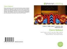 Portada del libro de Claire Nebout