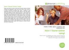 Copertina di Here I Stand (Usher song)