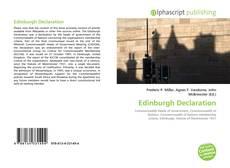 Copertina di Edinburgh Declaration
