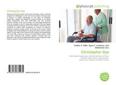 Bookcover of Christopher Dye