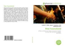 Portada del libro de Pete Townshend