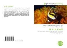 M. A. R. Koehl的封面