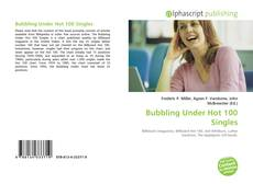 Buchcover von Bubbling Under Hot 100 Singles