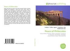 Portada del libro de Peace of Philocrates