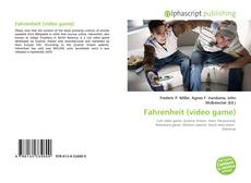 Bookcover of Fahrenheit (video game)