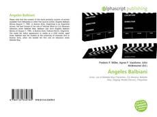 Portada del libro de Ángeles Balbiani