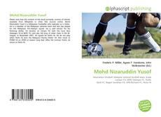 Couverture de Mohd Nizaruddin Yusof